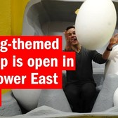 An egg-themed pop-up is open in the Lower East Side!