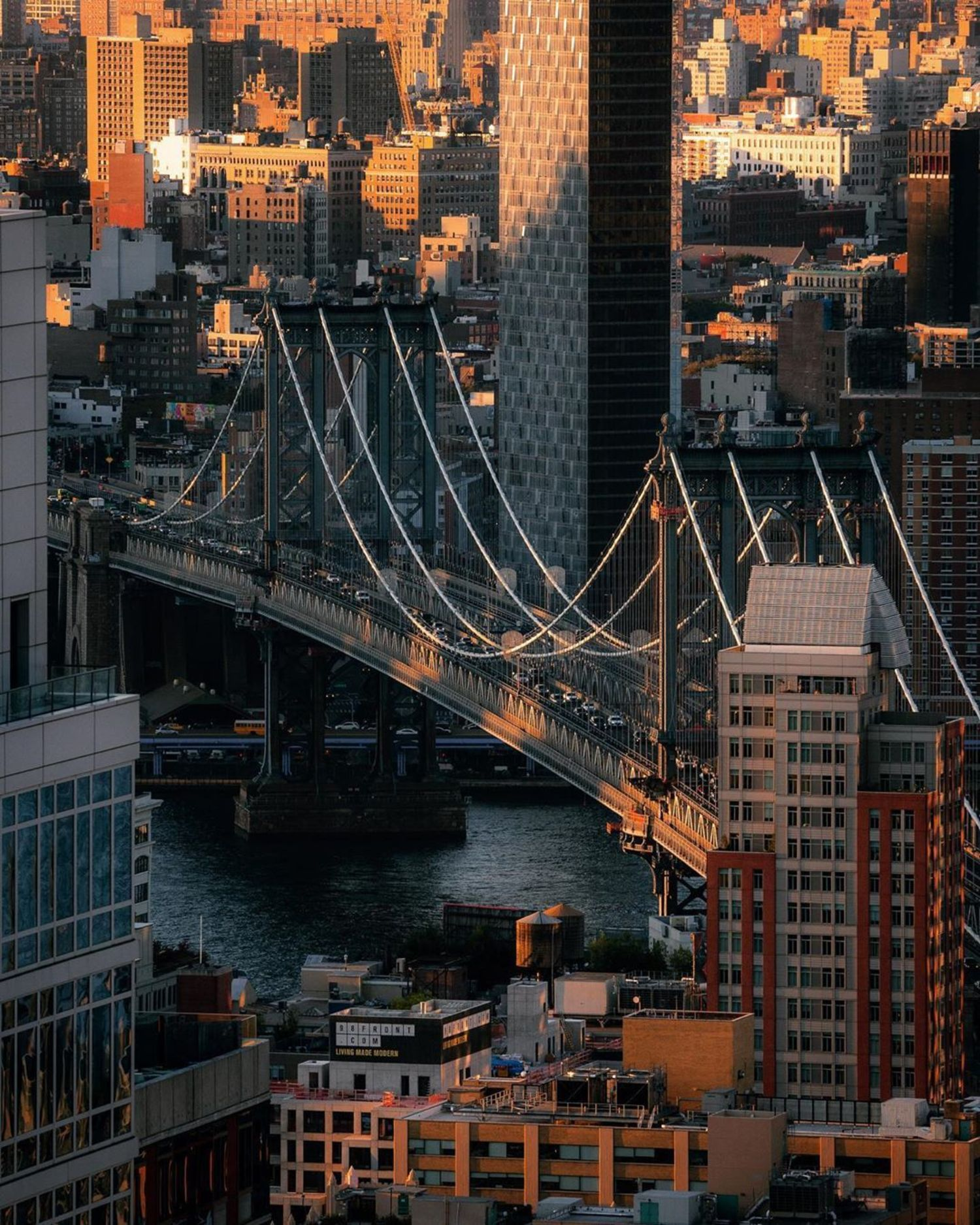 Manhattan Bridge from Downtown Brooklyn