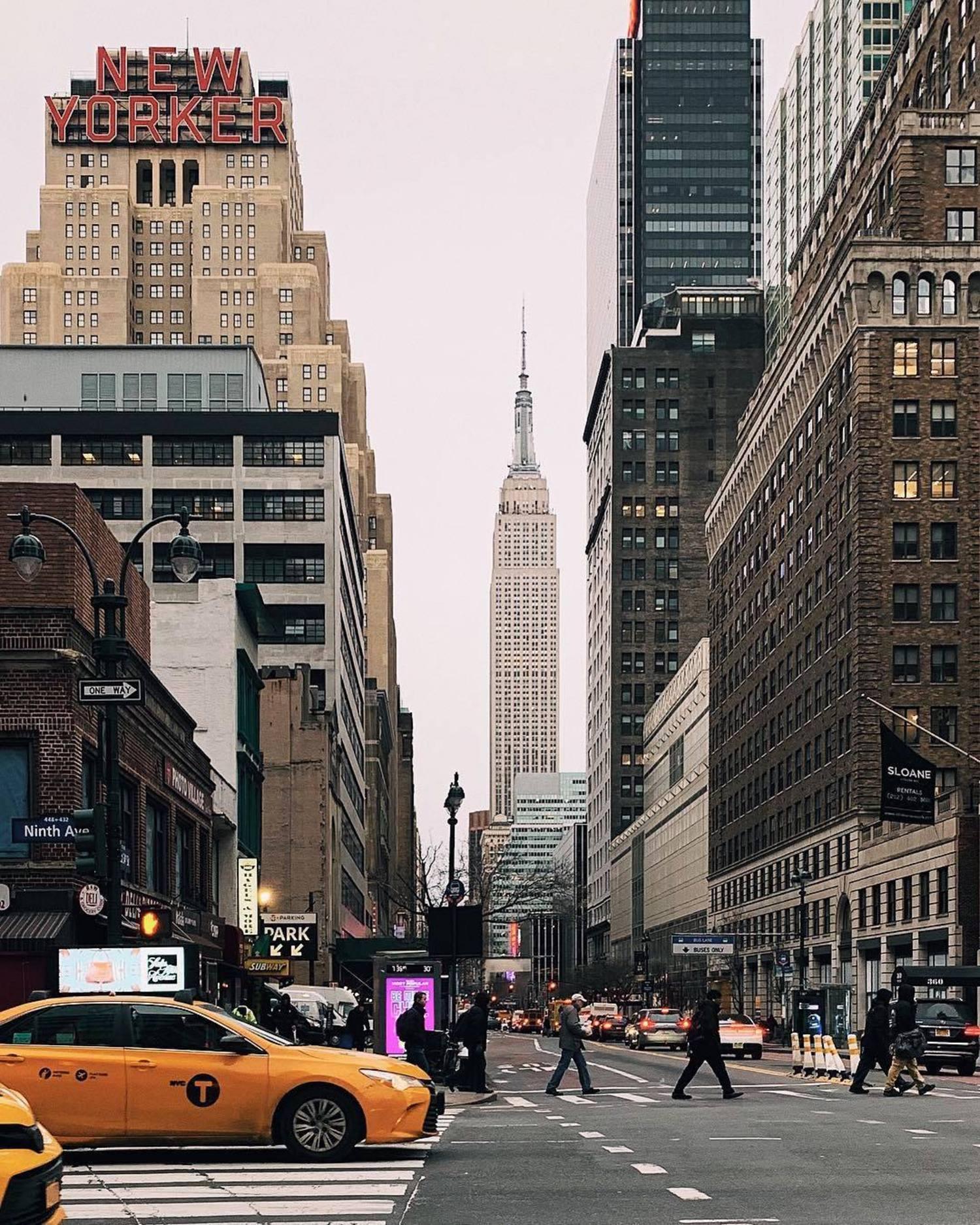 9th Avenue and 34th Street, Manhattan