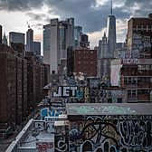 Chinatown Rooftops, Manhattan