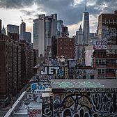 Chinatown Rooftops, Manhattan