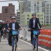 The Pulaski Bridge Protected Bike Path Is (Finally) Open!