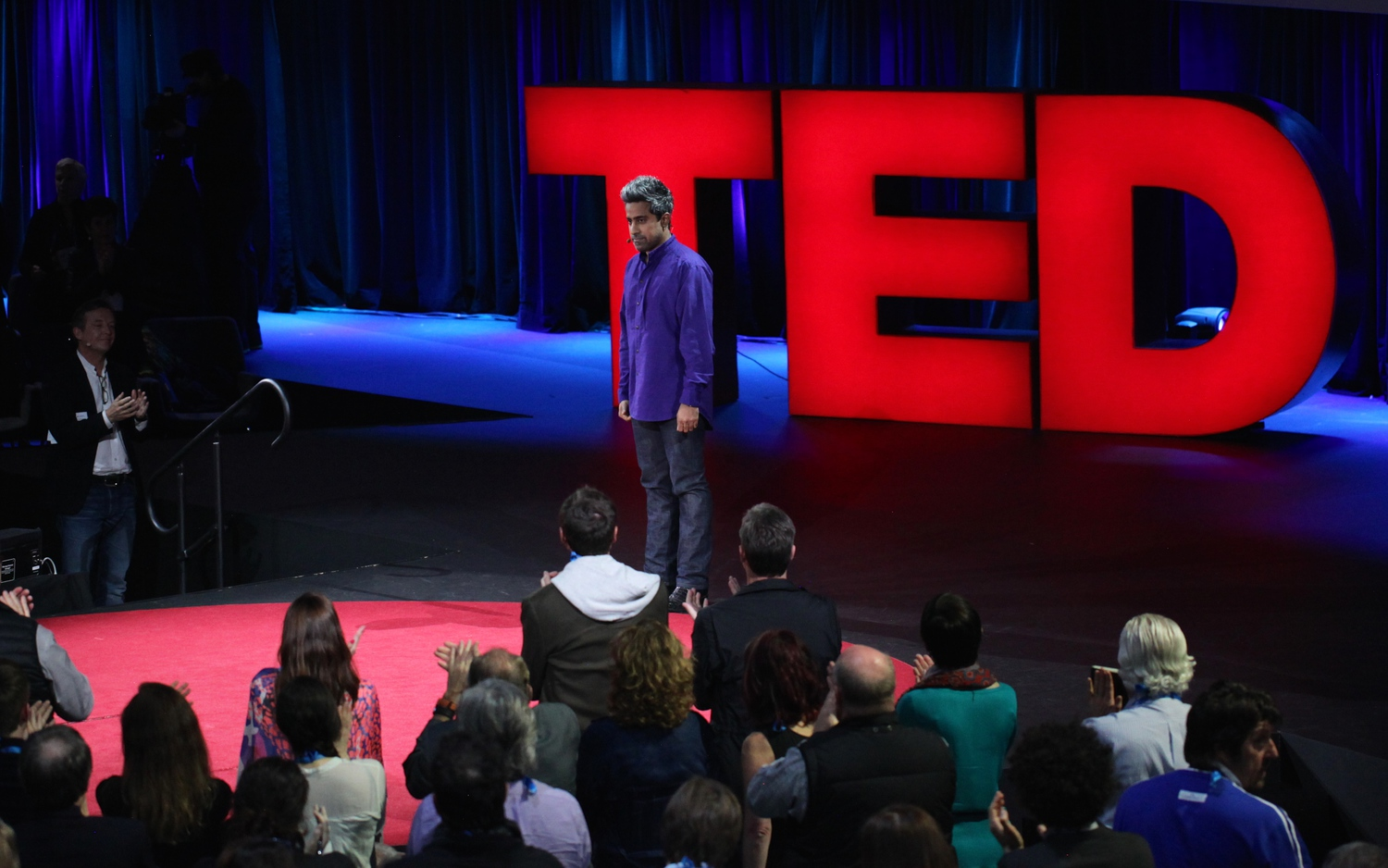 "A standing ovation for Anand's harrowing tale of two Americas… and true nobility | New York Times columnist Anand Giridharadas' <a href=""http://go.ted.com/MeC"" rel=""nofollow"">TED Talk</a> went live today.  He is a masterful storyteller, portraying people and cultures caught amid the great forces of our time."