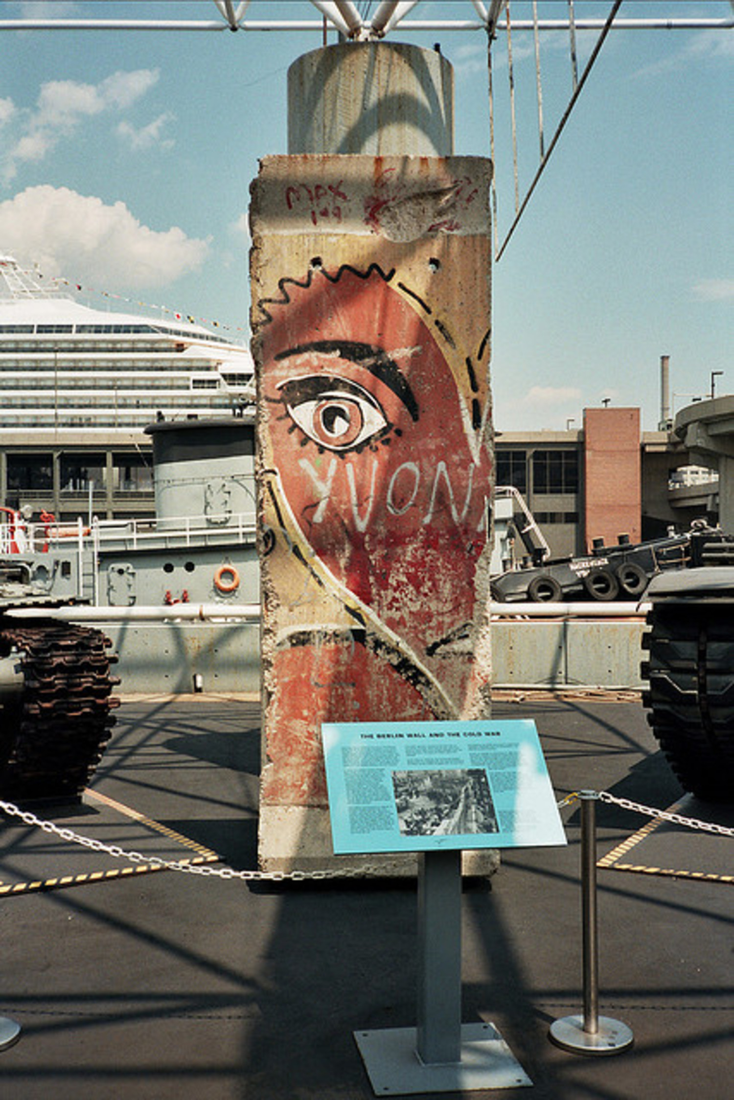 The Intrepid Museum Berlin Wall