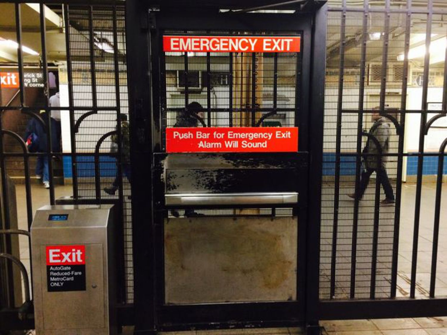 Subway Emergency Exit Alarms Will No Longer Drive You Nuts