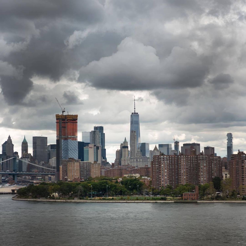 Moody skies, NYC