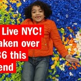 LEGO Live NYC! has taken over Pier 36 this weekend!