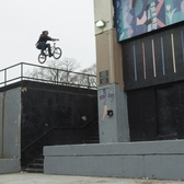 BMX Street Rider Desmond Rhodes - King Of NYC Streets Part 2