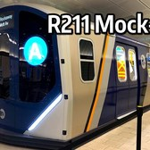 ⁴ᴷ New R211 Subway Car Mock-Up at 34th Street - Hudson Yards