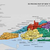 3D Pricing Map of New York City