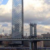 One Manhattan Square and Manhattan Bridge, New York, New York