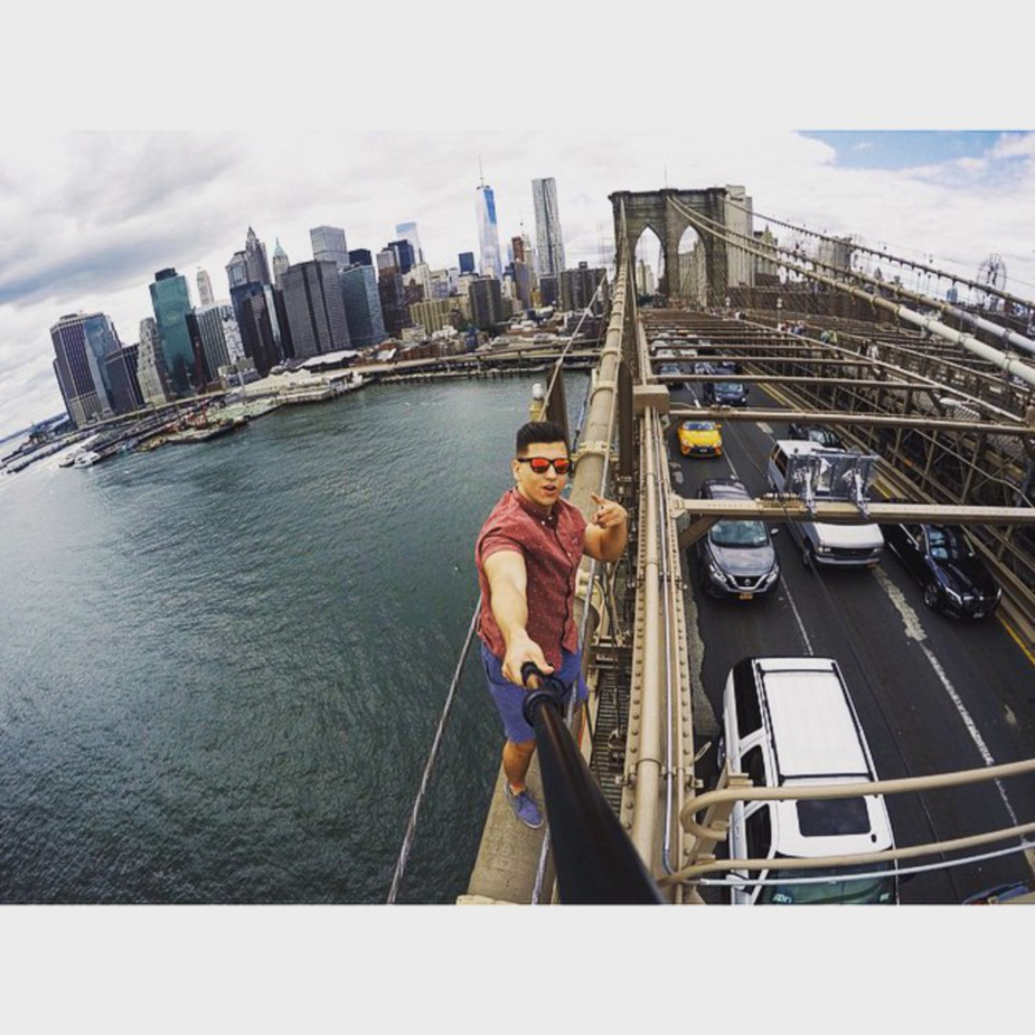😎 #newyorkcity#nyc#again#vscocam#gopro#goprophotography#adventureaddiction @kameleonz
