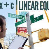 NYC: The Linear Equation of Broadway