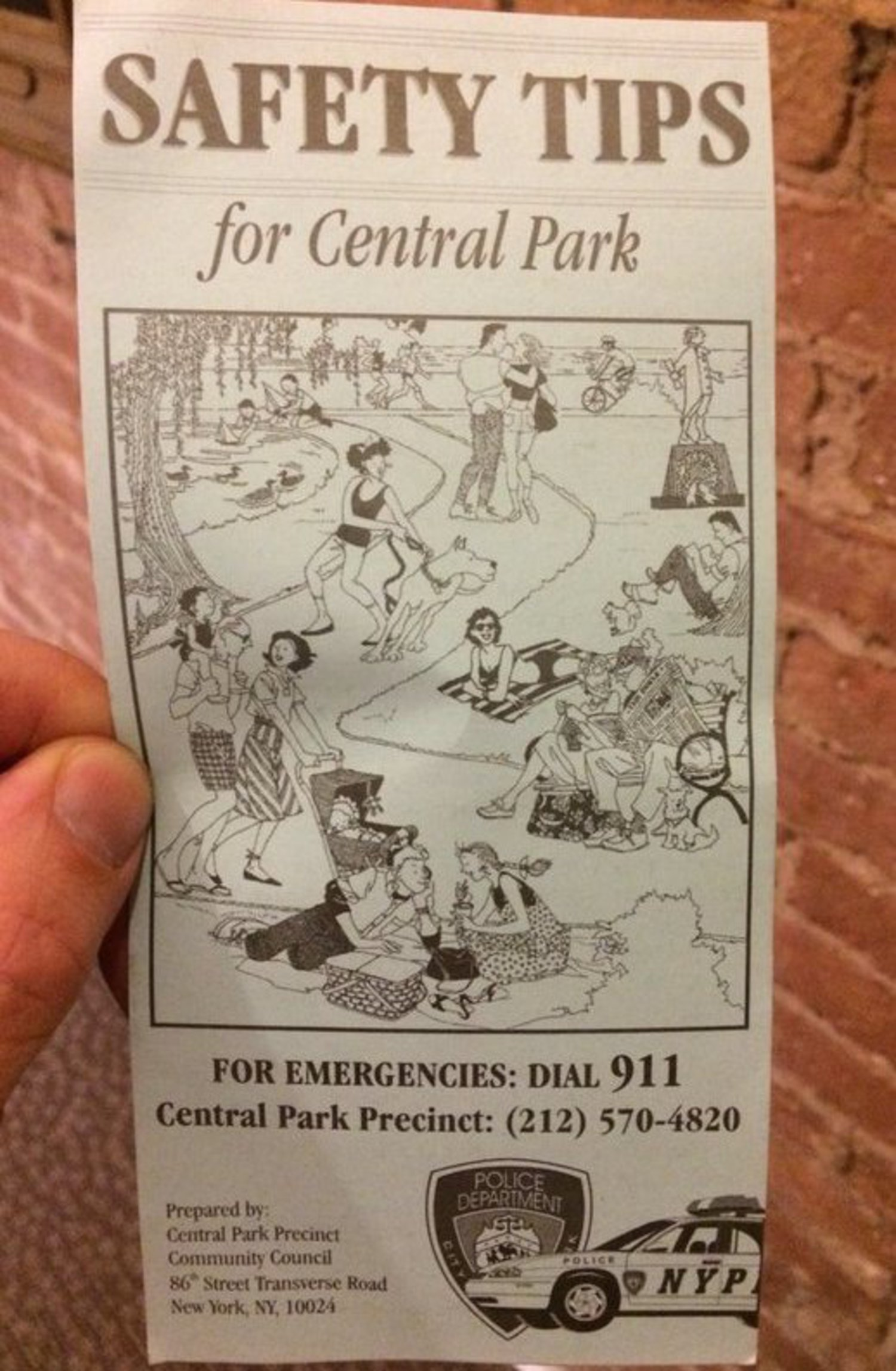 Safety Tips for Central Park