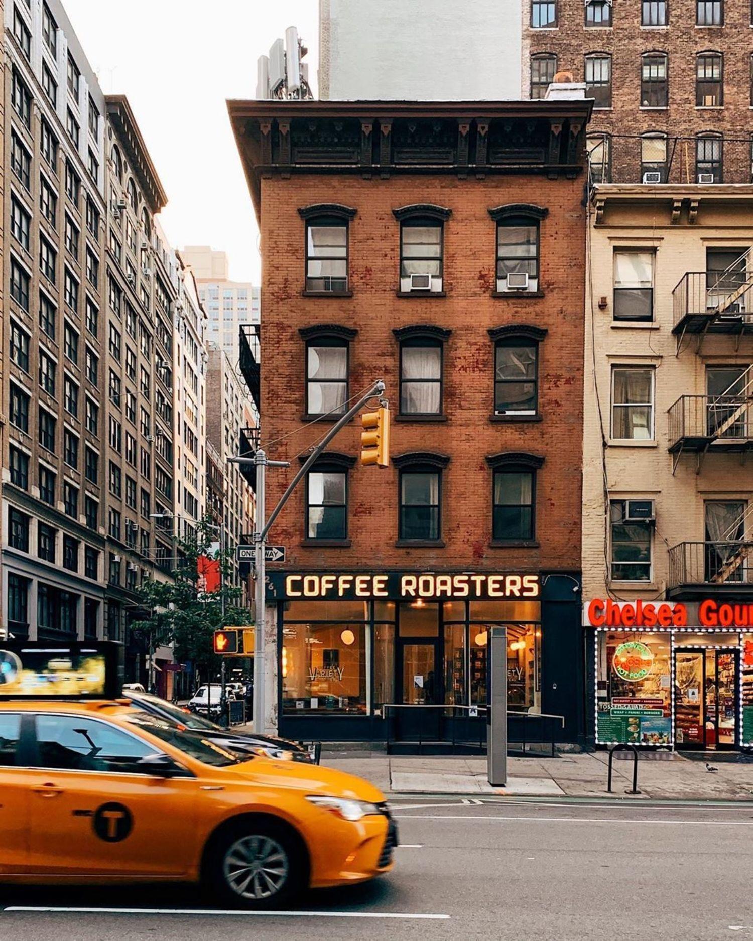 7th Avenue and 25th Street, Chelsea, Manhattan