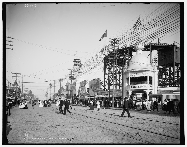 Surf Avenue, Coney Island, N.Y. 1903