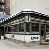 Cold Morning | The old Empire Diner on Tenth Avenue and 22nd Street.