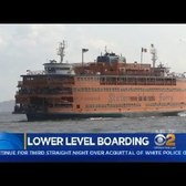 Staten Island Ferry Lower Level Boarding Starts Today