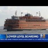 Staten Island Ferry Lower Level Boarding Starts Today