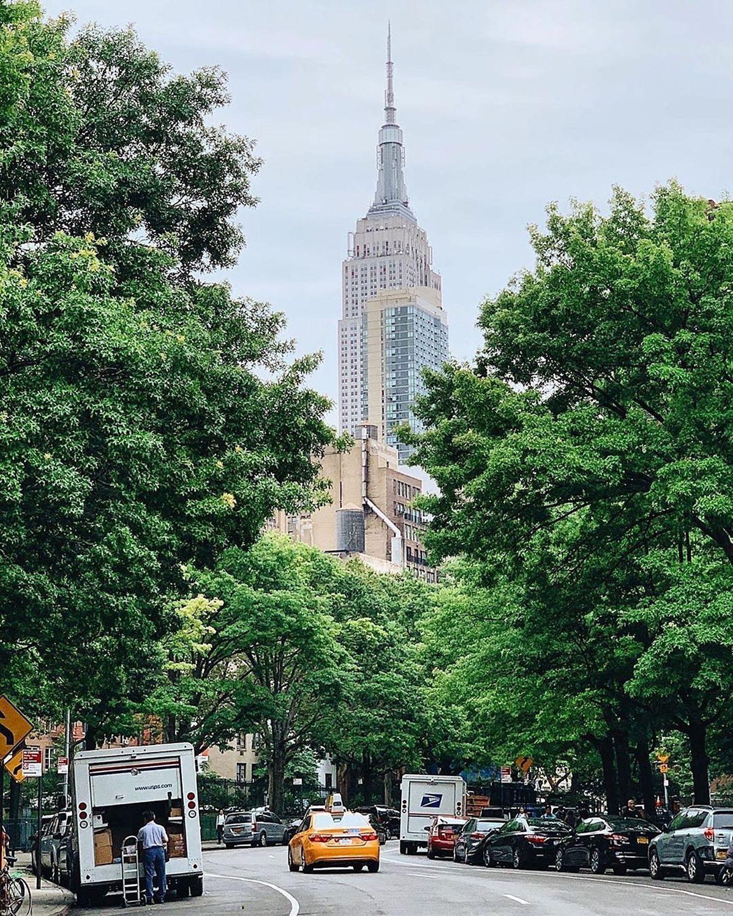 Empire State Building, Midtown, Manhattan.
