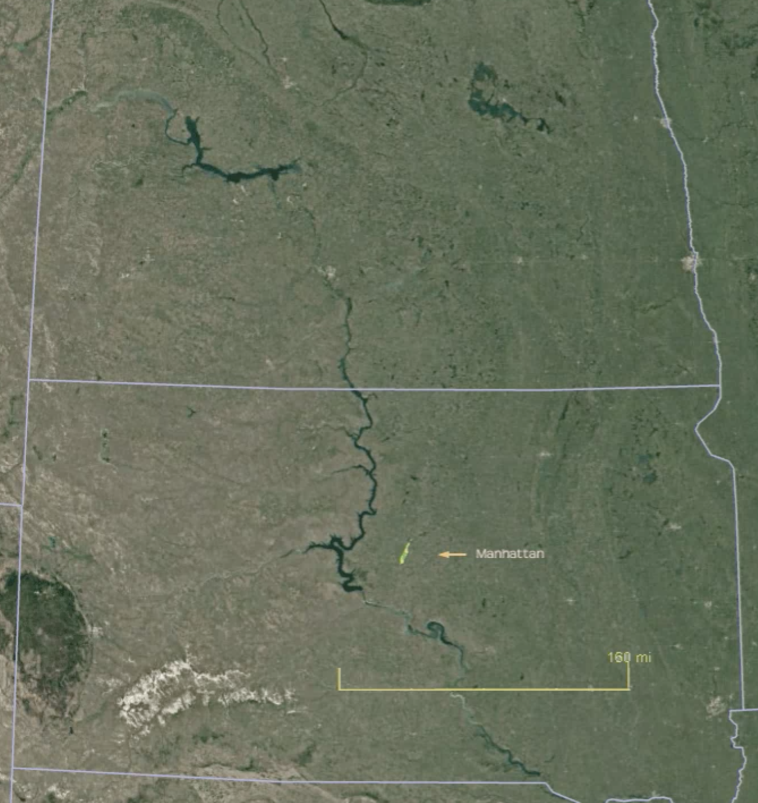 Comparing the Dakotas to Manhattan - the other view