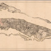 Steven's facsimile of British head quarters manuscript map of New York