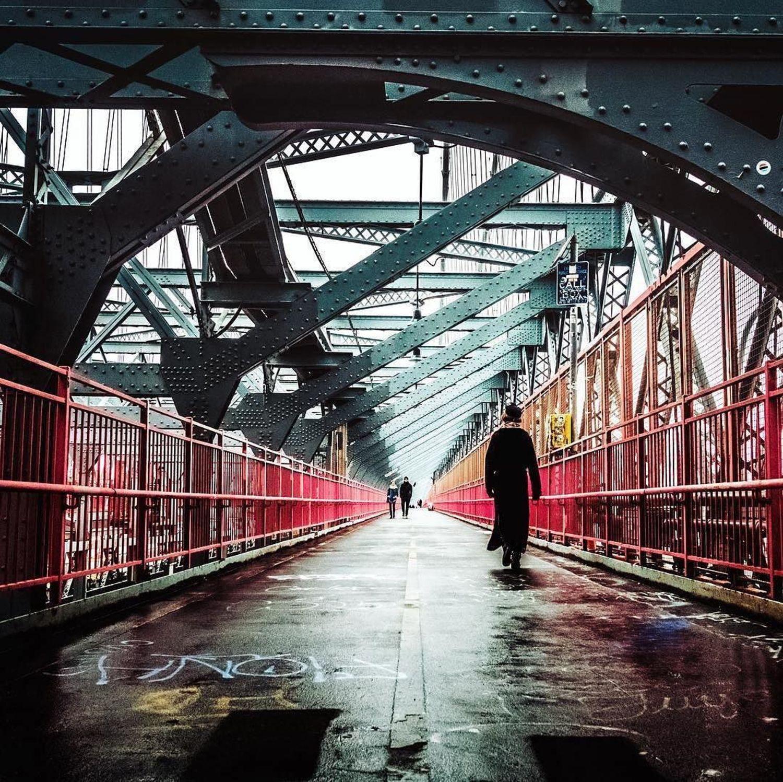 Williamsburg Bridge, New York. Photo via @travelinglens #viewingnyc