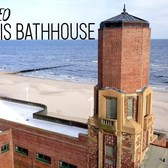 Abandoned Art Deco Bathhouse | Aerial Film