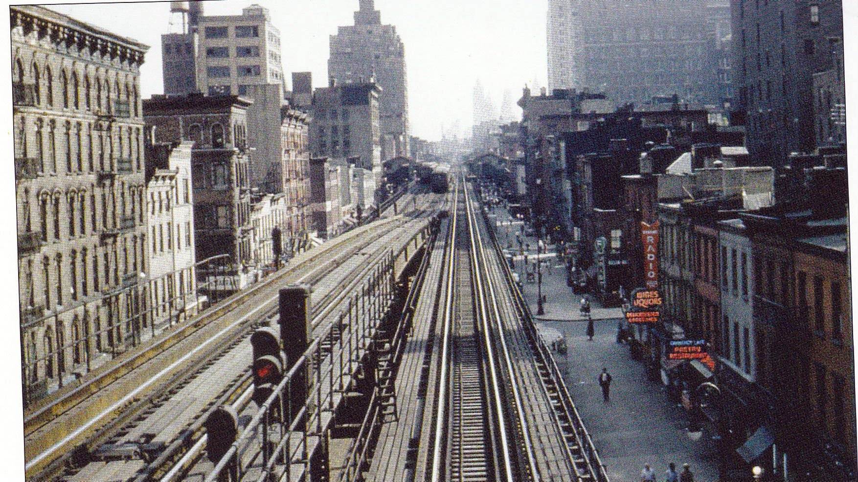 Take A Guided Tour Down 1950s Third Avenue El In This One