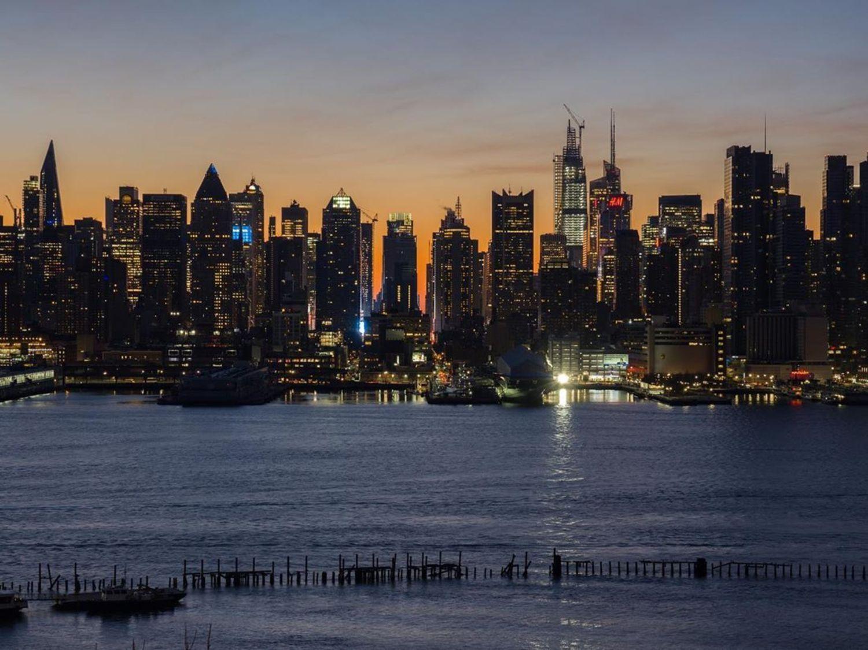 Sunrise Over Midtown, Manhattan