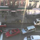 Avoiding a NYC Street Sweeper / Alternate Side Parking Dance