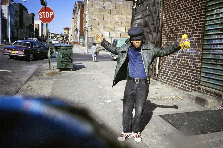 High Hat Hand Raised, Bushwick, Brooklyn, April 1982.