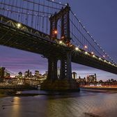 Manhattan Bridge, New York. Photo via @eyecatchingphoto #viewingnyc #newyork #newyorkcity #nyc