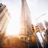 Flatiron Building, New York. Photo via @raylivez #viewingnyc #newyork #newyorkcity #nyc #flatironbuilding
