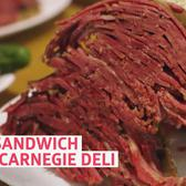 Can You Handle the Meatiest Sandwich at NYC's Carnegie Deli?