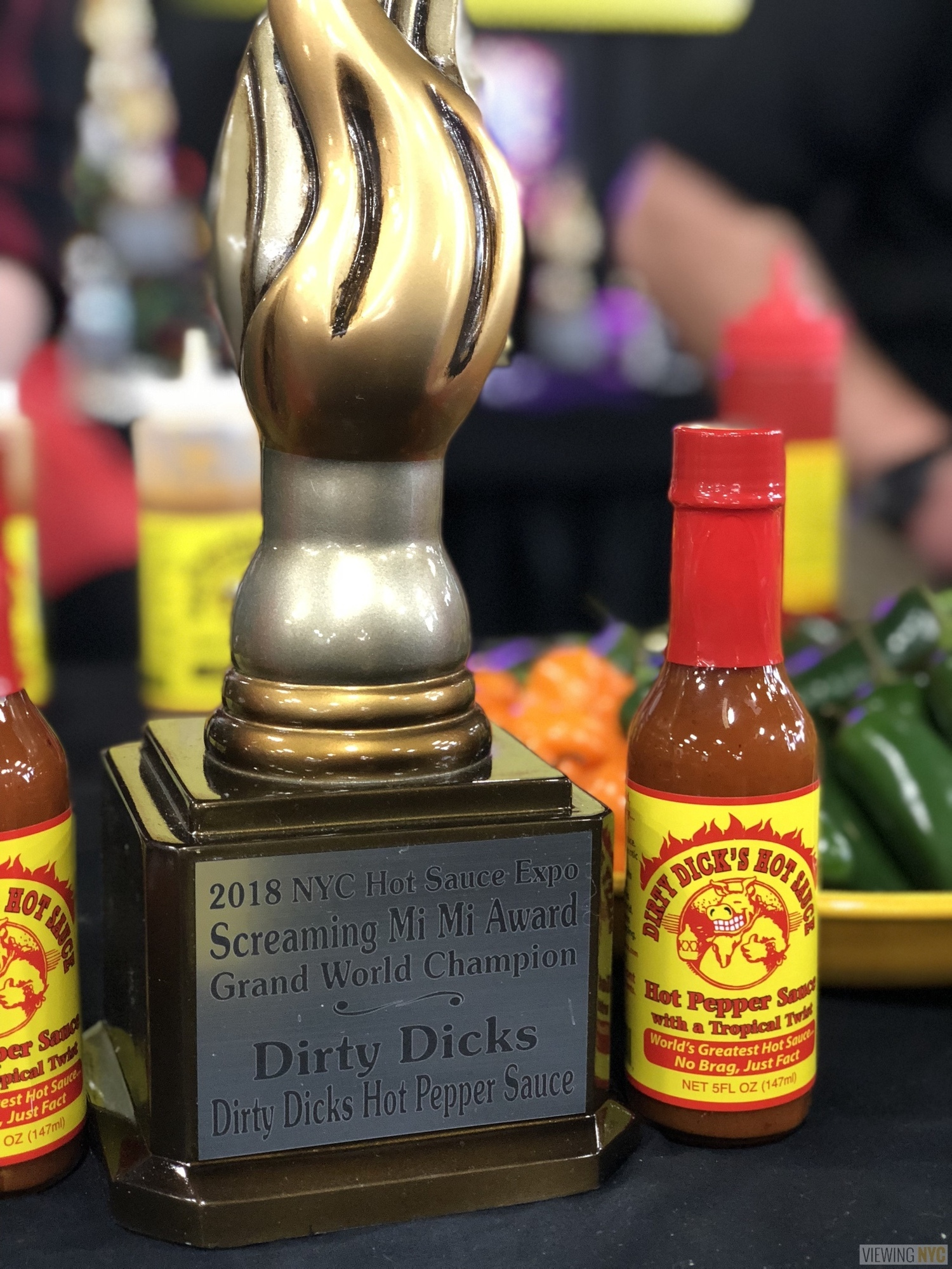 Dirty Dick's Hot Pepper Sauce | 2018 New York City Hot Sauce Expo