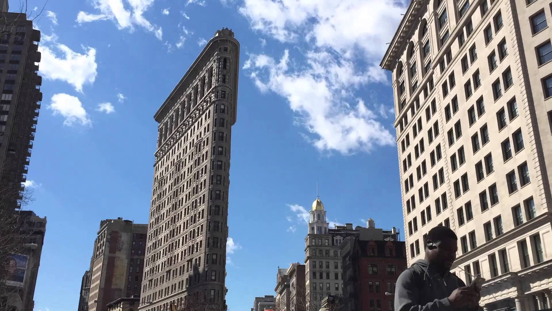 Interesting Time Lapse Video Shows The Flatiron Building