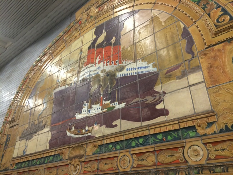 Marine Grill Murals
