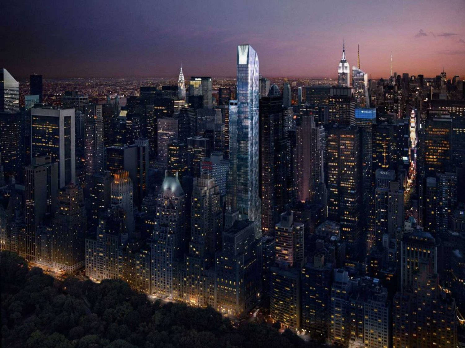 It might be easy to see why this is the newest most expensive building in New York.