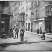 Doyers Street and Pell Street, Chinatown, New York, New York ca. 1900