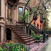 Park Slope, Brooklyn. Photo via @madufault #viewingnyc #nyc #newyork #newyorkcity #rain