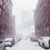 Water Street and Washington Street, DUMBO, Brooklyn, New York