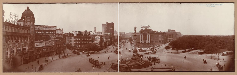 Columbus Circle, circa 1907