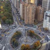 Columbus Circle, Manhattan. Photo via @newyorkcitykopp #viewingnyc #nyc #newyork #newyorkcity #columbuscircle