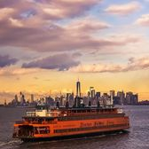 Staten Island Ferry, New York Harbor, New York