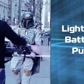 Star Wars Lightsaber Battles in NYC! The Force Awakens!