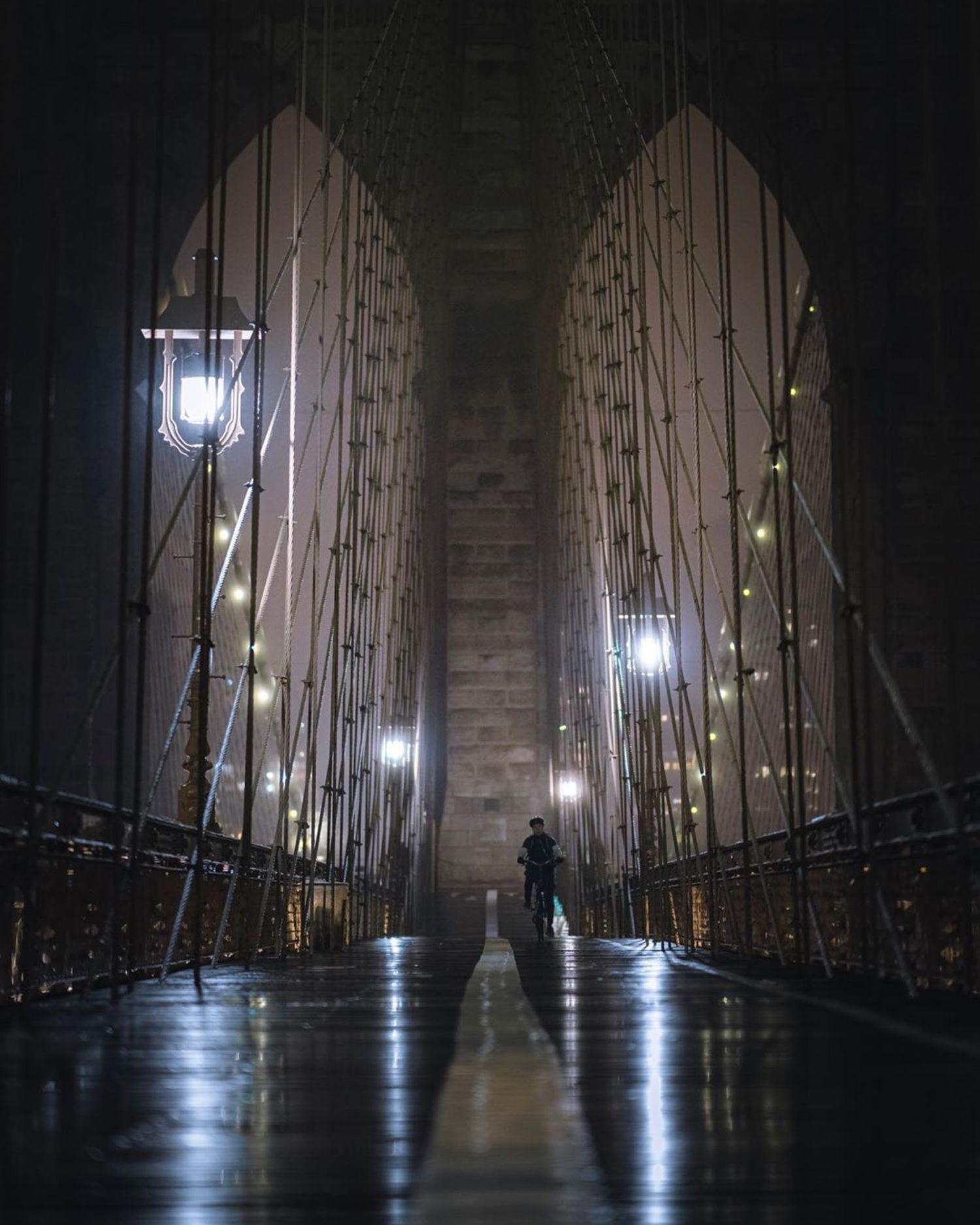 Brooklyn Bridge, New York, New York