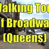 ⁴ᴷ Walking Tour of Queens, NYC - Broadway in its entirety from Astoria to Elmhurst