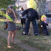Taking a Swing at (Piñata) Donald Trump