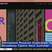 Museum Of Broadway To Open In Times Square